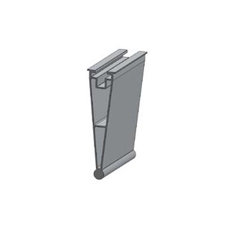 Alumero můstek pro trapézový plech - zadní díl Plus