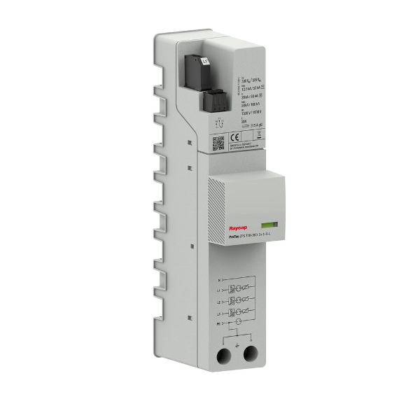 Raycap AC přepěťová ochrana přípojnice typ I+II TN-S/TT