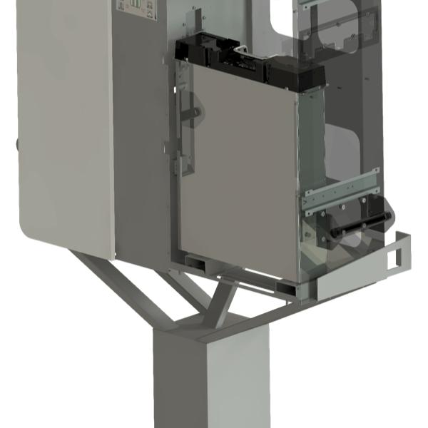 Panel pro dodatečnou montáž baterií E3/DC 6.5 kWh s připojovacím setem