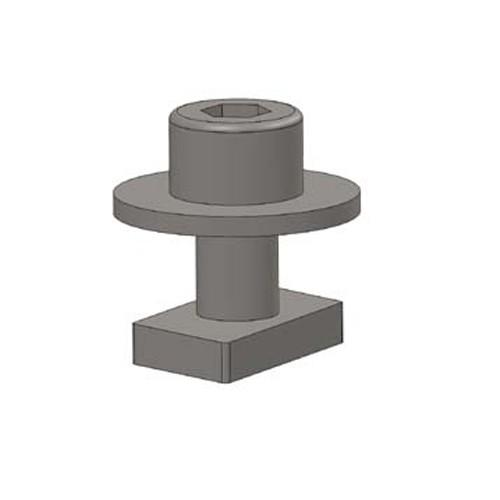Alumero můstek pro trapézový plech - zajišťovací set Plus