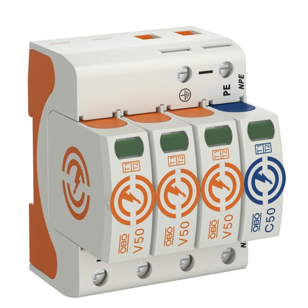 OBO přepěťová ochrana AC typu I+II, V50