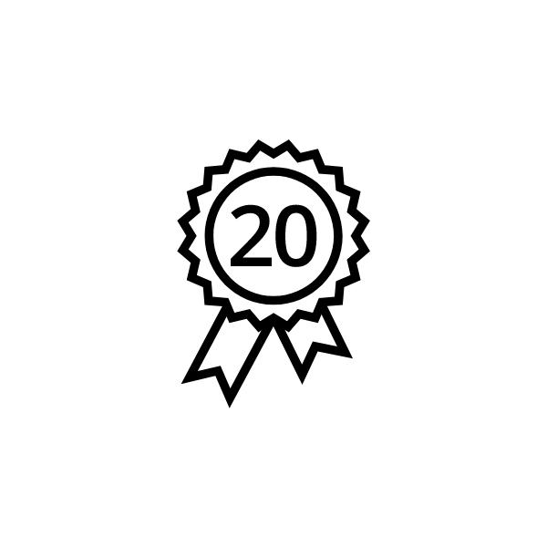 Fronius prodloužení záruky Plus 20 let K2