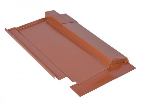 Marzari, kovová střešní deska, typ Grande 280, červená