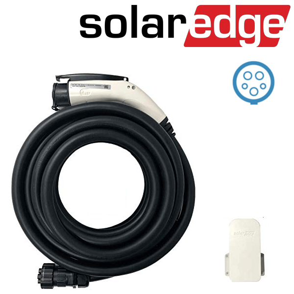 Sada kabelů SolarEdge EV Charger typu I 7,6 m