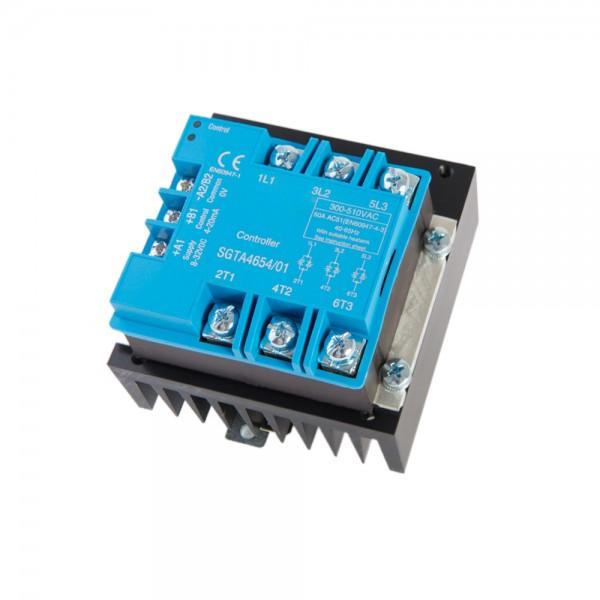 SmartFox tyristorový regulátor 3x400 V / 6 kW / 8,9A 3fázový