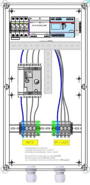 Enwitec ochrana sítě a systému feed-guard 110,4 kVA 160 A