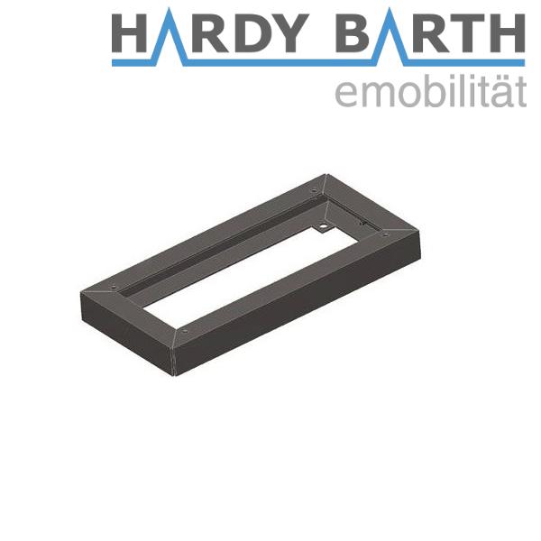 Hardy Barth sokl z nerezové oceli 40mm pro cPP1