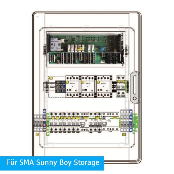 Enwitec přepínací zařízení 1x SMA SB Storage Pmax 20 kW