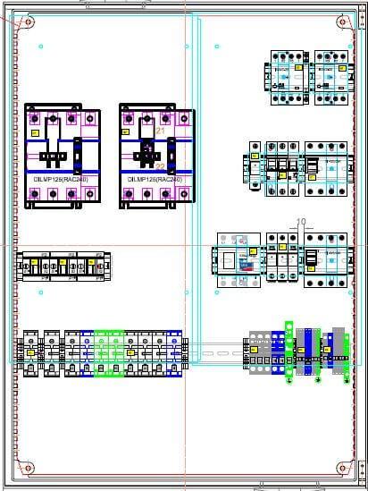 Přepínací zařízení Enwitec pro 3x SMA Sunny Island Pmax 125 kW