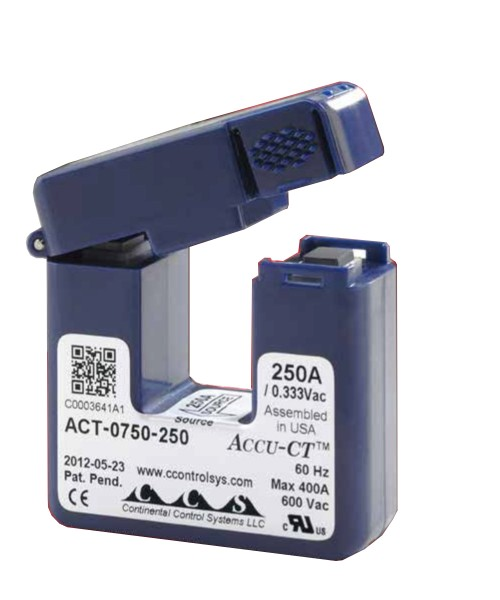SolarEdge proudový snímač typ 250A SE-ACT-0750-250