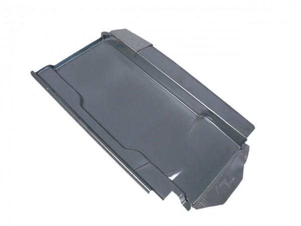Kovová střešní deska Marzari typu Ton 260 Z, černo-šedá