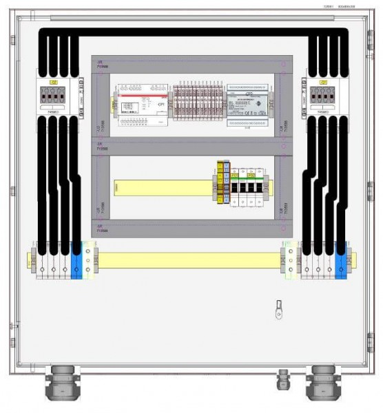 HIS ochrana odpojení HNA-077-0-B001/77 kVA 110 A