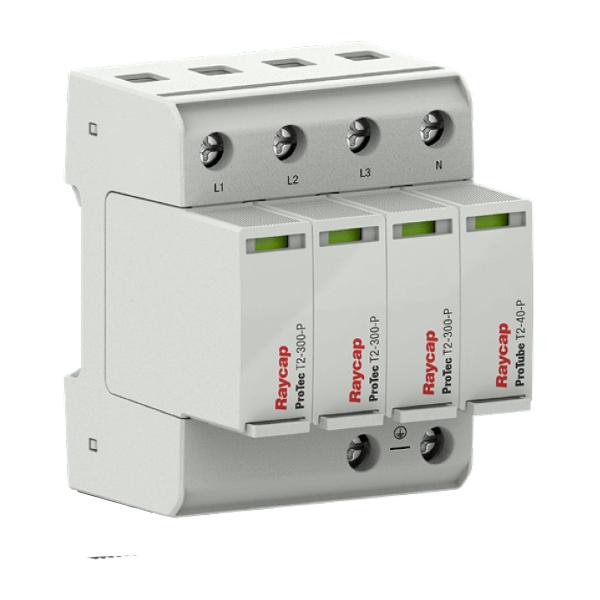 Raycap AC přepěťová ochrana montážní lišta typ II TN-S/ TT