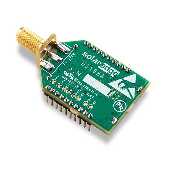 SolarEdge automatizovaná domácnost vysílač ZigBee displej střídače