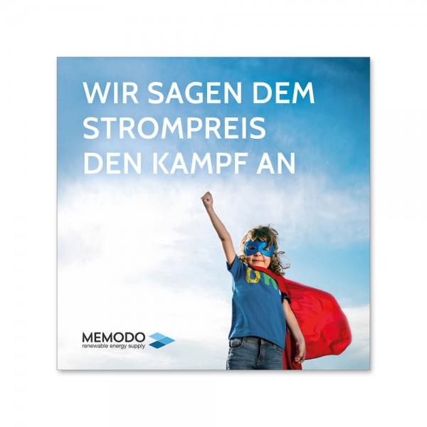 Memodo – letáky pro koncové zákazníky (500 kusů)